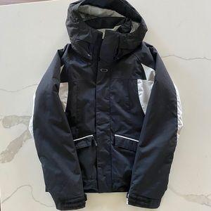 Black Oakley ski & snow boarding jacket si…